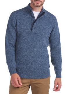 Barbour Patch Lambswool Half-Zip Pullover