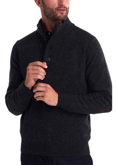 Barbour Patch Wool Quarter Zip Pullover
