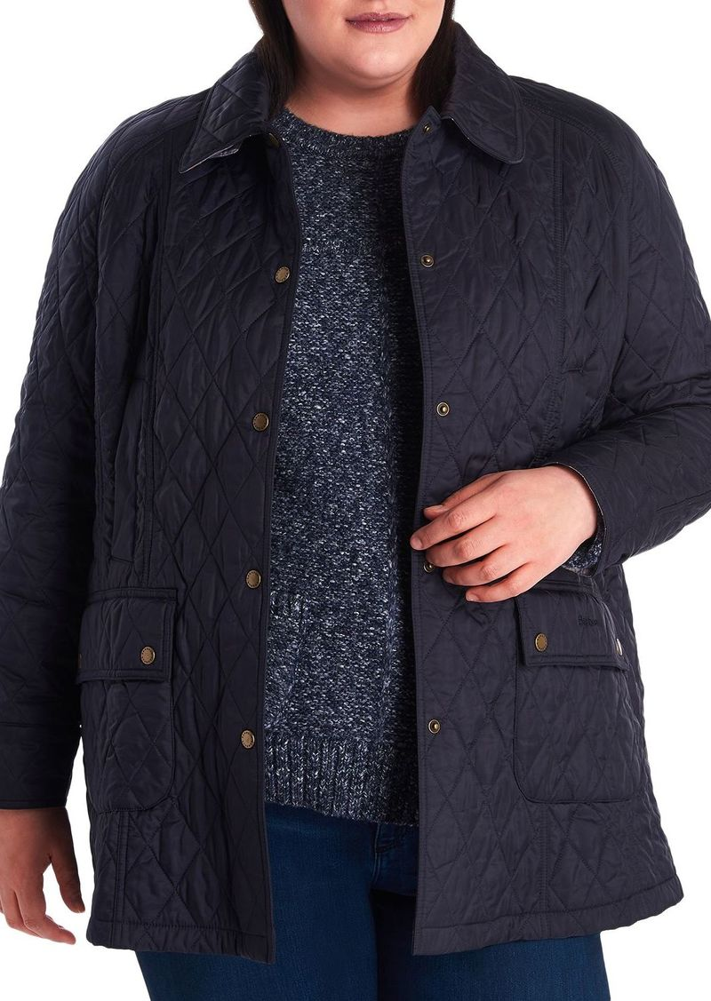Barbour Plus Summer Beadnell Quilted Coat