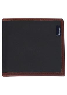 Barbour Slim Dry Wax Billfold Wallet