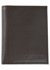 Barbour Small Colwell RFID Leather Bifold Wallet