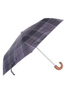 Barbour Tartan Plaid Mini Umbrella