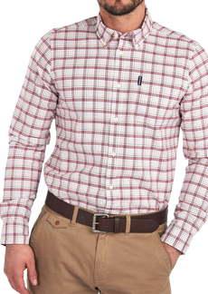 Barbour Tatter Plaid Button-Down Shirt