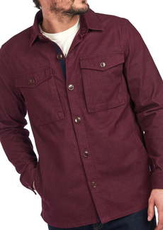 Barbour Thermo Solid Button-Up Shirt Jacket