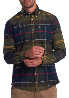 Barbour Trim Fit Tartan Button-Down Shirt