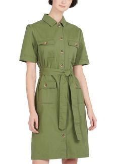 Barbour Victoria Cotton Utility Dress