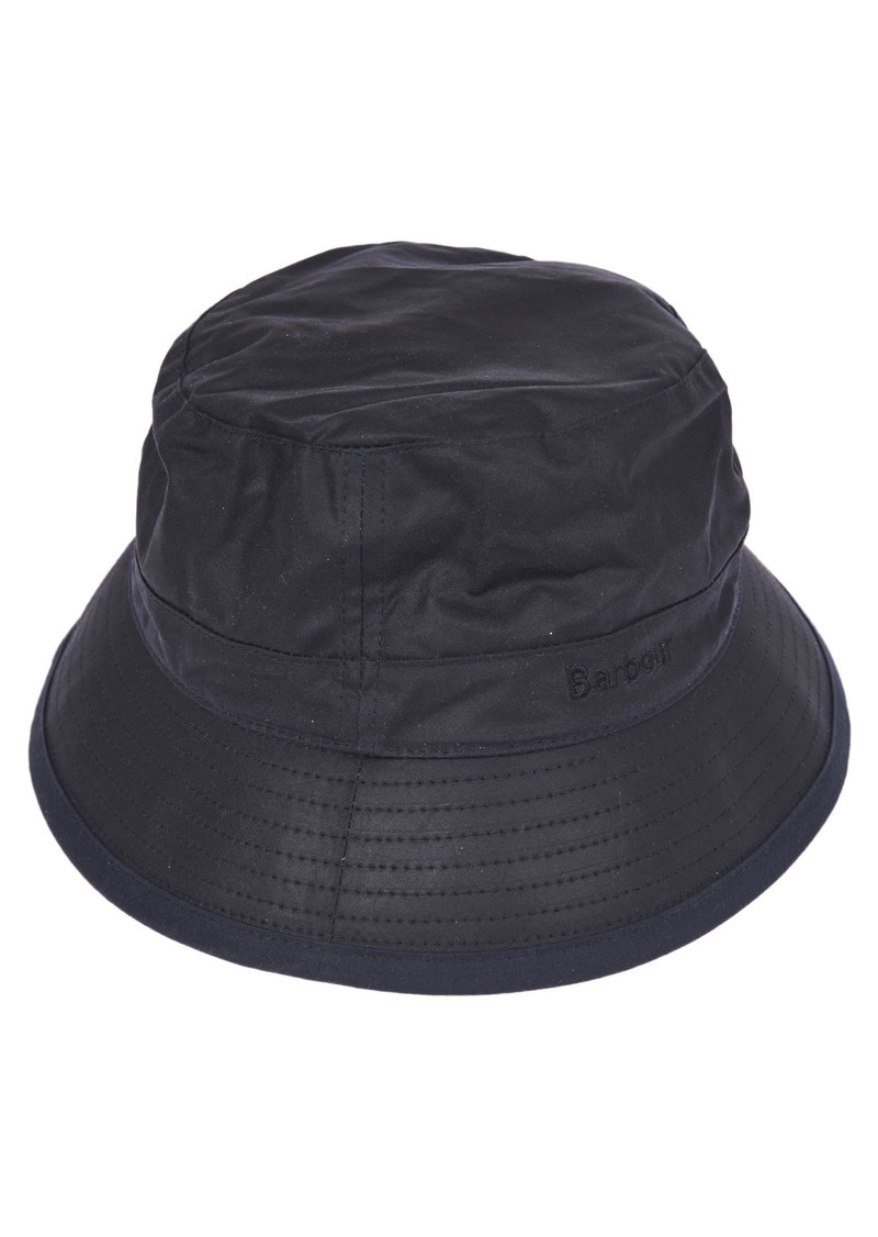 Barbour Wax Blue Hat