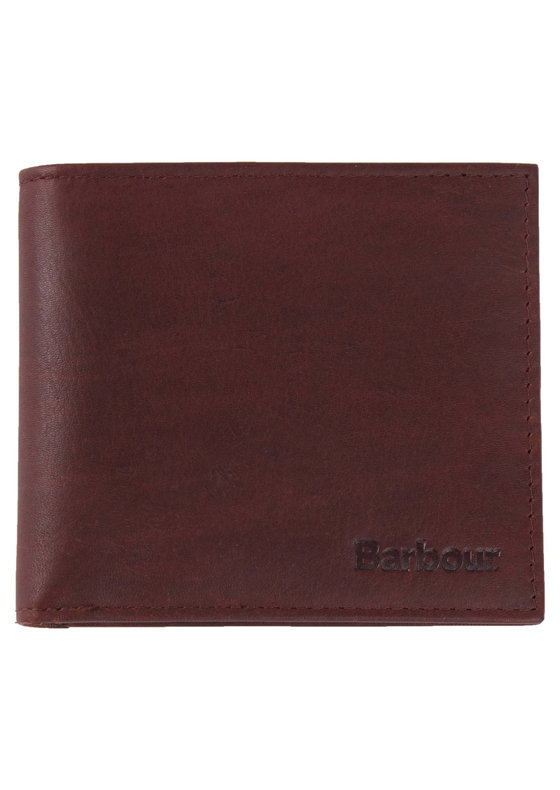 Barbour Waxed Leather Wallet