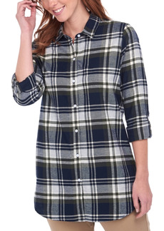Barbour Windbound Plaid Cotton Shirt