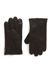 Barbour Bexley Touchscreen Compatible Leather Gloves