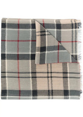 Barbour check-print scarf