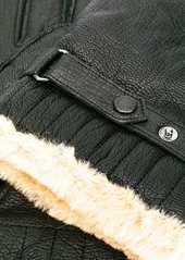Barbour faux fur lined gloves