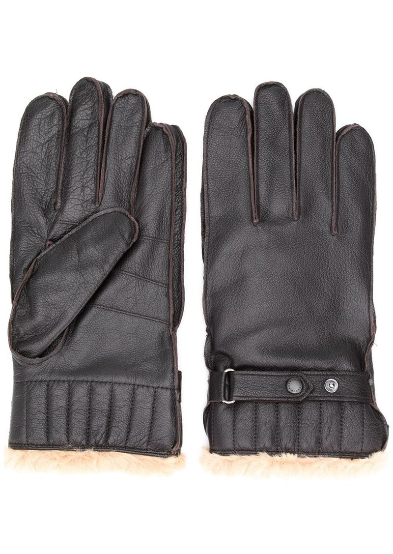 Barbour faux fur lined gloves