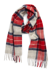 Barbour Merino Wool & Cashmere Scarf