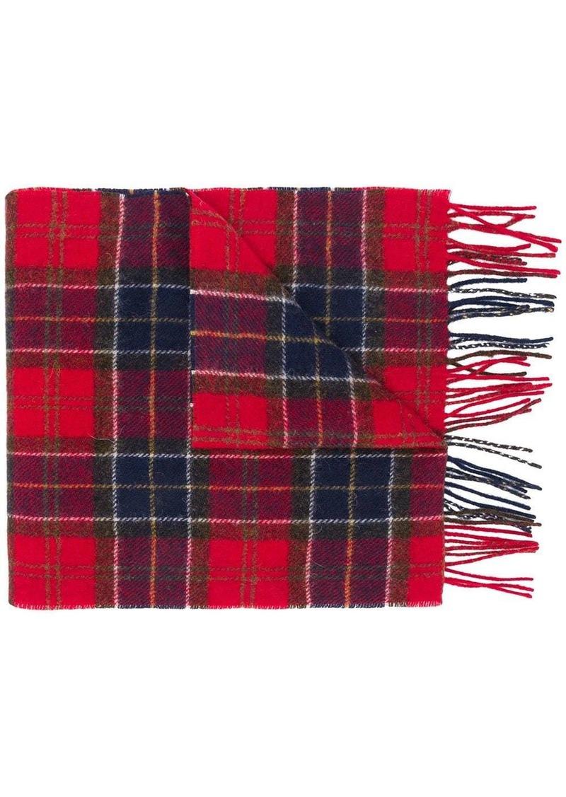 Barbour plaid scarf