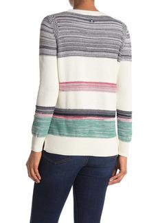 Barbour Stripe Crew Neck Knit Sweater