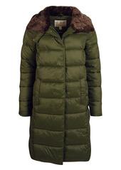 Barbour Teasel Quilt Longline Jacket