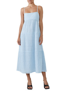 Bardot Broderie Flow Eyelet Dress