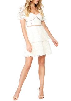 Bardot Lace Minidress