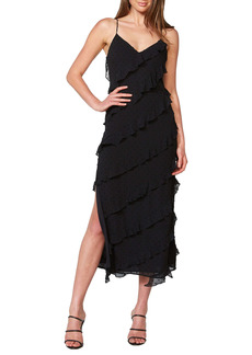Bardot Deco Sleeveless Midi Dress