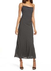 Bardot Dot Midi Dress