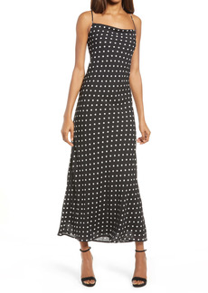 Bardot Dot Midi Dress