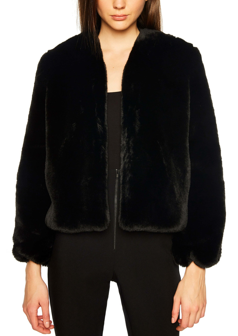 Bardot Evening Faux Fur Jacket