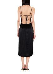 Bardot Exposed Back Slipdress