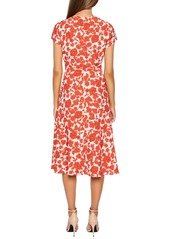 Bardot Fiesta Floral Faux Wrap Dress
