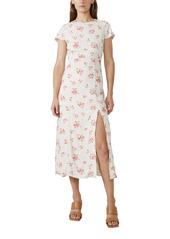 Bardot Floral Sheath Midi Dress