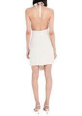 Bardot Goddess Halter Neck Dress