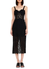 Bardot Lace Corset Dress