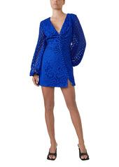 Bardot Lily Long Sleeve Lace Dress