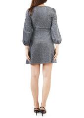 Bardot Marlena Long Sleeve Babydoll Dress