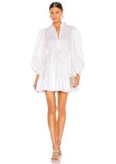 Bardot Mini Poplin Dress