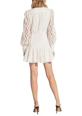 Bardot Remy Long Sleeve Lace Fit & Flare Dress