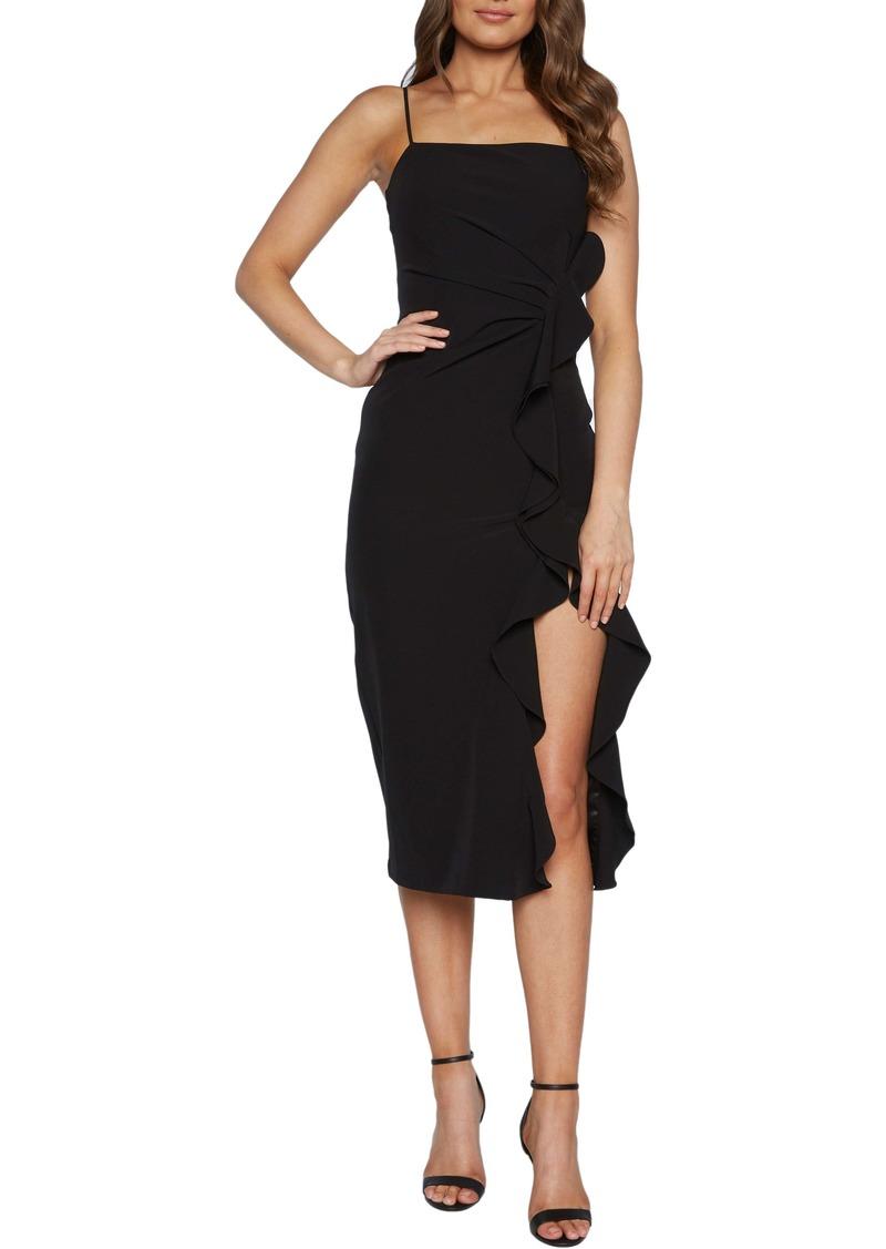 Bardot Rona Ruffle Midi Dress