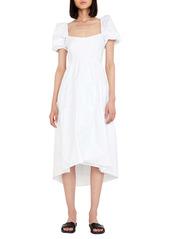 Bardot Tiered Cotton Midi Dress