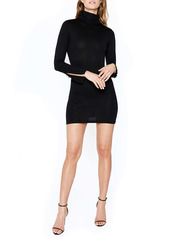 Bardot Turtleneck Body-Con Long Sleeve Dress