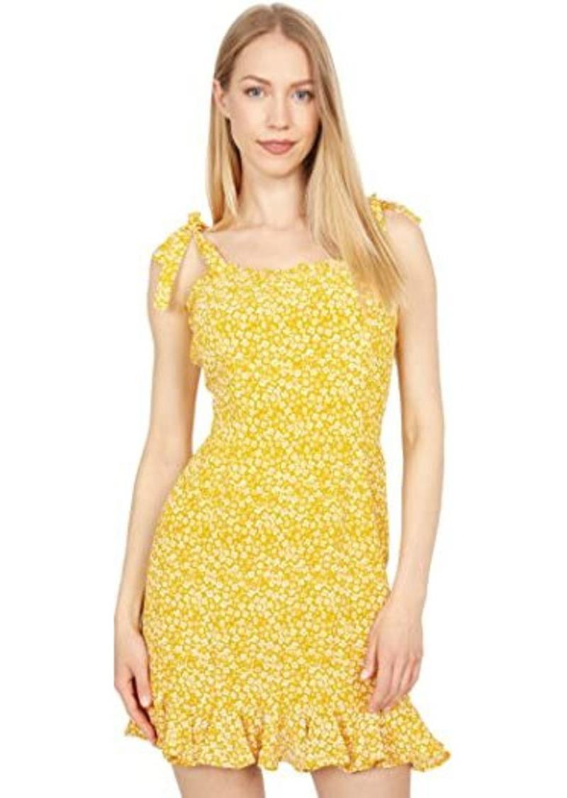 Bardot Ditsy Frill Hem Dress