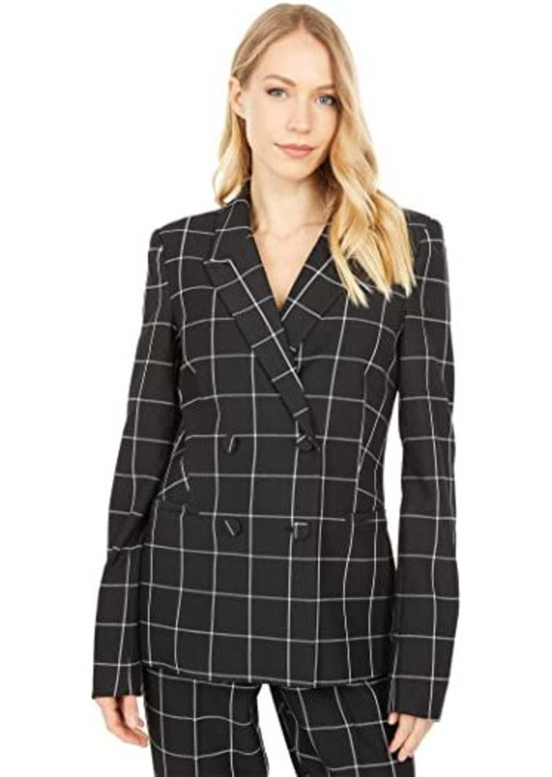 Bardot London Check Blazer
