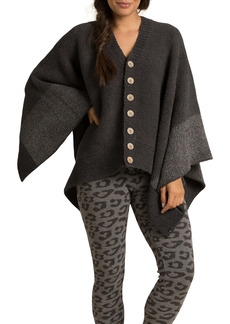 Barefoot Dreams® CozyChic® Button Poncho