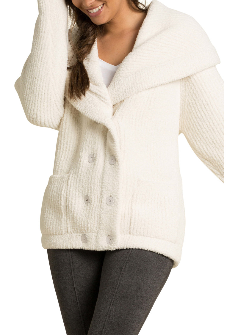 Barefoot Dreams® CozyChic™ Double Breasted Cardigan