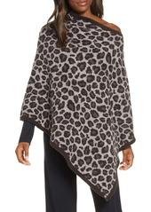 Barefoot Dreams® CozyChic™ Leopard Print Poncho