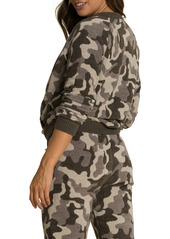 Barefoot Dreams® CozyChic Ultra Lite™ Camo Full Zip Cardigan