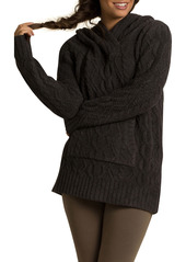 Barefoot Dreams® CozyChic™ Zigzag Cable Knit Hoodie