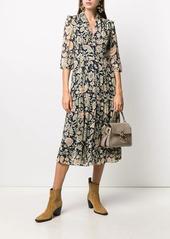 ba&sh Aline floral-print dress