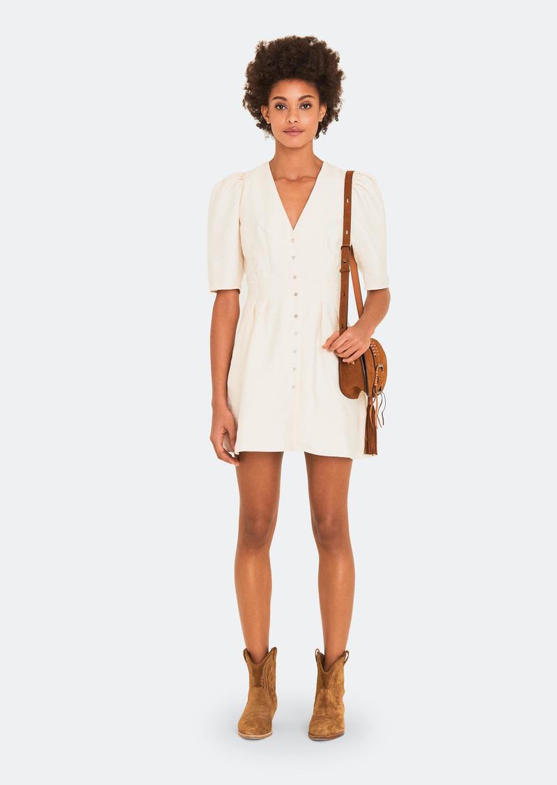 ba&sh Astrid V-Neck Mini Dress - 0 - Also in: 3, 1, 2