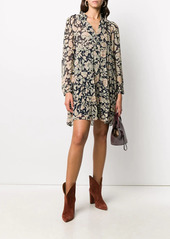 ba&sh Azur floral-print mini dress