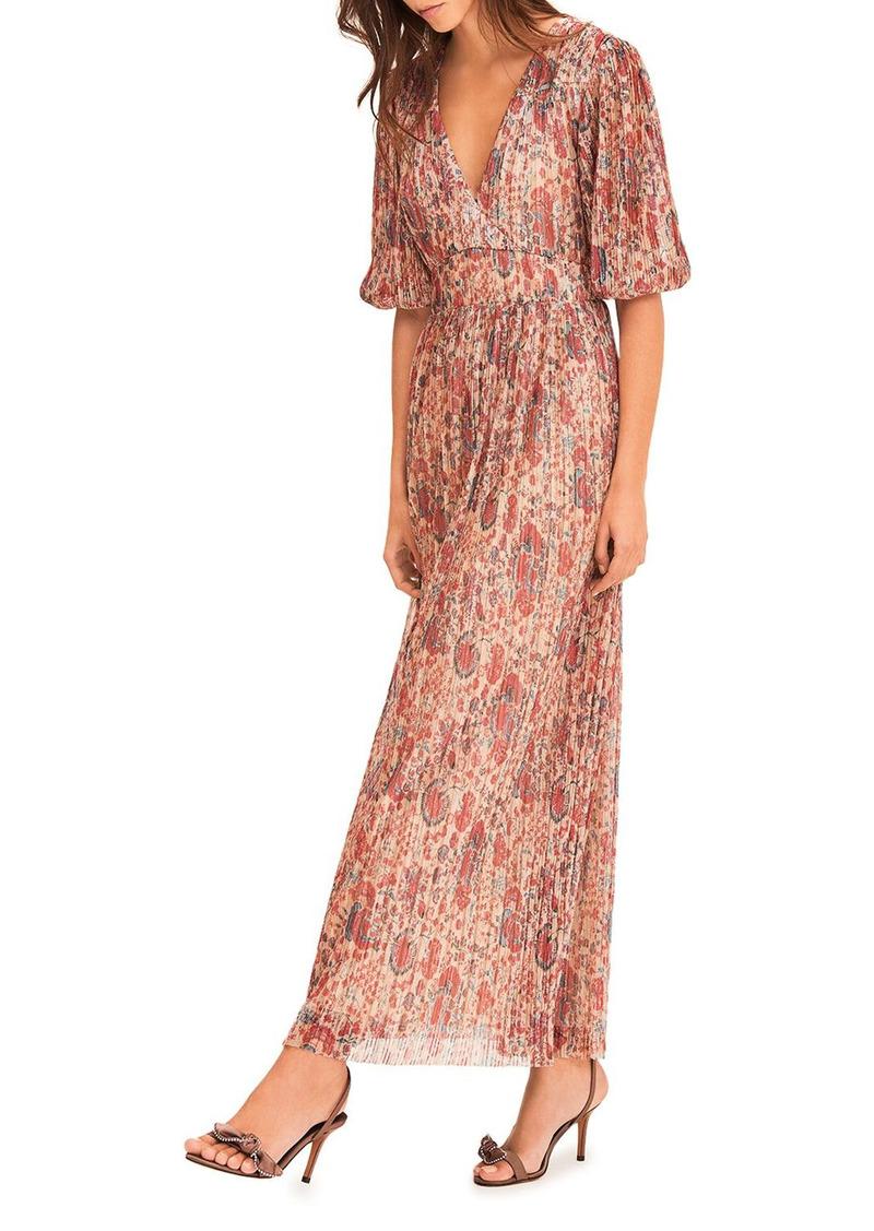ba&sh Amelia Floral Print Dress